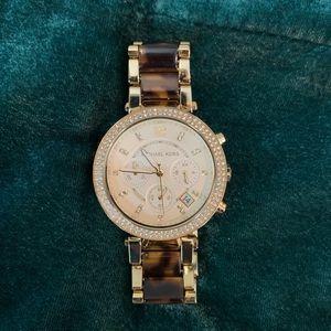 Michael Kors Watch - Tortoise & Gold